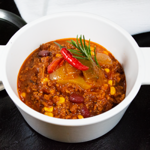 Chili con Carne mit Tiroler Rind